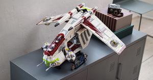 [] LEGO's Next UCS Set is a 3292-Piece Republic Gunship