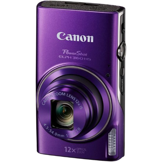 5. Best for a Night Out: Canon PowerShot ELPH 360 HS