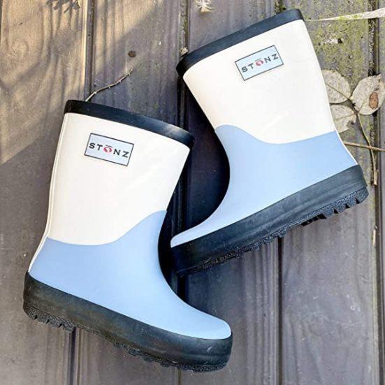 2. Runner Up: Stonz Rain Boots 100% Natural Rubber
