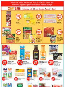 [Valid Sat Jul 31 — Fri Aug 6] Shoppers Drug Mart