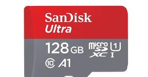 [$23.39 (save $9.60!)] SanDisk Ultra 128GB microSDXC with Adapter