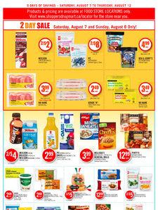 [Valid Sat Aug 7 — Thu Aug 12] Shoppers Drug Mart