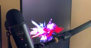 [] Blue Yeticaster USB Mic Broadcast Studio Bundle
