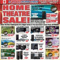 2001 Audio Video - Weekly Deals - Home Theatre Sale Flyer