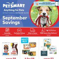 PetSmart - September Savings Flyer