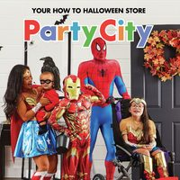 Party City - Your How To Halloween Store Flyer