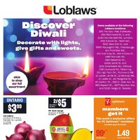 Loblaws - Discover Diwali Flyer