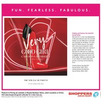 Shoppers Drug Mart - Beauty Book Flyer