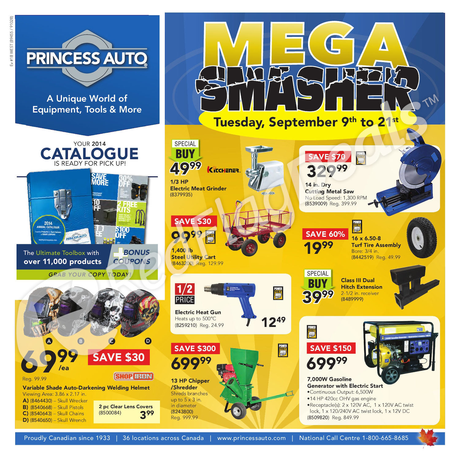 Trailer Wiring Harness Princess Auto Trusted Diagram Horse Weekly Flyer 2 Week Mega Smasher Sep 9