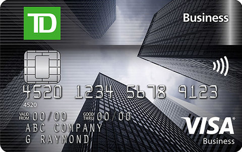 Compare best td credit cards in canada redflagdeals credit cards td business visa card reheart Choice Image