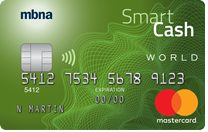 MBNA Smart Cash® World Mastercard®