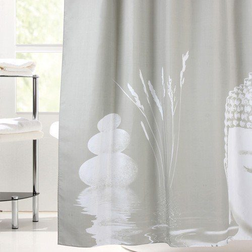 JYSK Buddha Shower Curtain