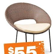 Home Depot Margie Woven Stack Chair   $55.00 Margie Woven Stack Chair