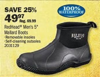 Bass Pro Shops: RedHead Mallard Boots