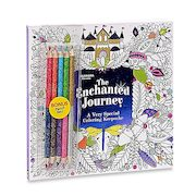 Colorama Enchanted Journey Coloring Book With Colored Pencils - $7.99 ($11.00 Off)