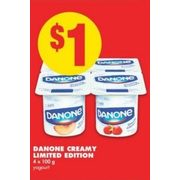 Danone Creamy Limited Edition - $1.00