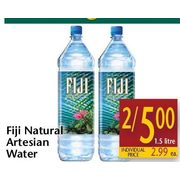 Fiji Natral Artesian Water - 2/$5.00