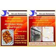 Get 50% Off On Chicken Wings On Wednesdays!