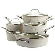 Heritage The Rock Ceramic Cookware Set, 10-pc - $199.99 ($500.00 Off)
