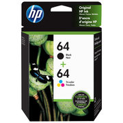 HP 64 Multi-Colour Ink 2-Pack - $46.99