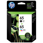 HP 65 Colour/Black Ink Cartridge 2-Pack - $35.99