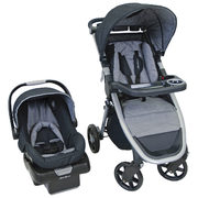 Best Buy Eddie Bauer Alpine 4 Travel System Standard Stroller With OnBoard 35 Infant Car Seat