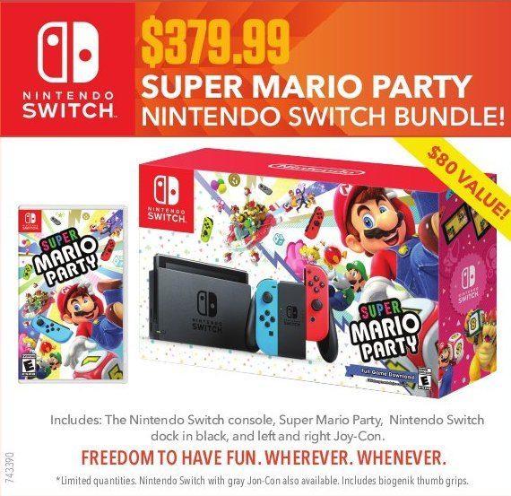 Eb Games Super Mario Party Nintendo Switch Bundle Redflagdeals Com