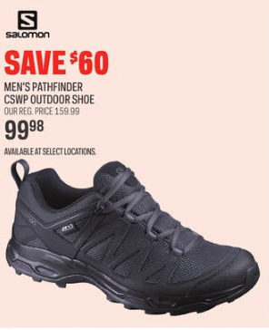 7614112e3a5e Sport Chek Salomon Men s Pathfinder CSWP Outdoor Shoe -  99.98 ( 60.00 off)  Salomon Men s Pathfinder CSWP Outdoor Shoe