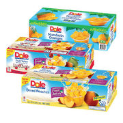 Dole Fruit Cups  Fruit Salad With Cherries, Mandarin Oranges, or Diced Peaches - $2.80 off