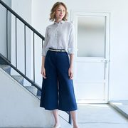 Uniqlo Limited-Time Offers: Women's Linen Cotton Wide Cropped Pants $29.90, Men's Dry Light Weight Jacket $39.90 + More!