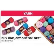 Lion Brand Yarn - BOGO 50% off