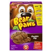 Dare Bear Paws Snacks, Whippet or Ultimate Cookies or Chips - 2/$4.00