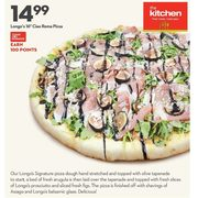 "The Kitchen Longo's 16"" Ciao Roma Pizza - $14.99"