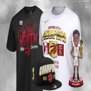 NBA Store: Raptors Merchandise