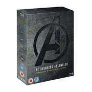 Amazon UK: Get The Avengers Assembled: Complete 4-Movie Blu