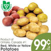 Red, White Or Yellow Potatoes - $0.99/lb