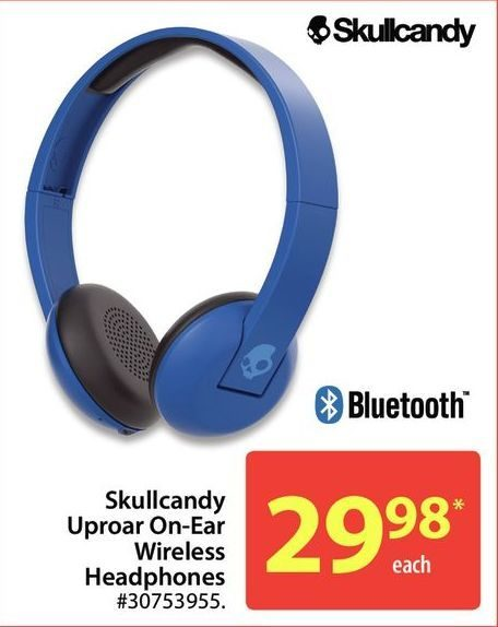 Walmart Skullcandy Uproar On Ear Wireless Headphones Redflagdeals Com