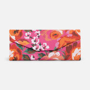 Pink Foldable Glasses Case With Flowers - $4.99 ($7.01 Off)