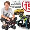 Remote Control Cars and Robots - 15% off