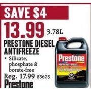 Prestone Diesel Antifreeze - $13.99 ($4.00 off)