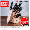 Zwilling 10 Pc. Twin Gourmet Knife Block Set - $192.49 (65% off)