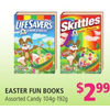 Easter Fun Books Candy - $2.99