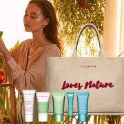 Clarins: Get a Free 6-Piece Gifts from Nature Set With Any $100 Purchase + FREE Shipping!