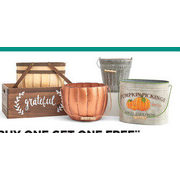 Fall Containers & Baskets - BOGO Free