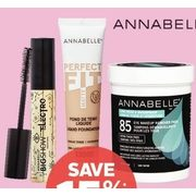 Annabelle Eye Or Face Cosmetics Or Makeup Removers  - 15% off