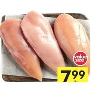 Compliments Air-Chilled Boneless Skinless Chicken Breasts  - $7.99/lb