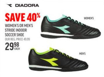 Diadora Women's Or Men's Stride Indoor
