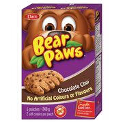 Bear Paws Cookies  - 3/$6.00