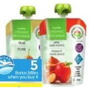 Compliments Organic Puree Pouches - 4/$5.00