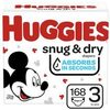 Huggies Sung & Dry, Little Movers Or Little Snugglers Mega Colossal Diapers - $27.97